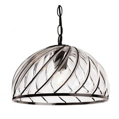 Firstlight Pascal Single Light Ceiling Pendant In Black Finish With Clear Glass Shade Cage Pendant Light, Black Pendant Light, Globe Pendant, Ceiling Pendant, Lantern Pendant, Pendant Lighting, Ceiling Lights, Island Pendants, Glass Pendants