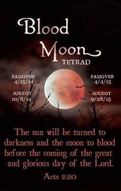 sermon on blood moons - photo #25