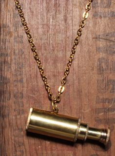 Working Telescope Necklace