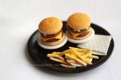 Simplystella's Sketchbook: Miniature French Fries: Step-by-step