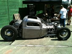 LegendaryFinds - Awesome hot rods and muscle cars from around the web! Hot Rod Trucks, Mini Trucks, Chevy Trucks, Pickup Trucks, Rat Rod Build, Rat Rod Pickup, Sheet Metal Fabrication, Kustom Kulture, Car Covers