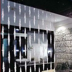 Free Shipping Luxury Crystal Beaded Curtain for hotel restaurant and apartment decoration room divider on AliExpress.com. $188.00