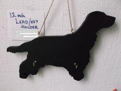 Dog lead leash or key holder with a chalk by Tillybeescraftshop