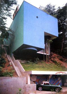 Blue Box House, Tokyo - Mayumi Miyawaki,1971.