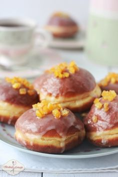 My Grandmother's Best Donuts Polish Desserts, Polish Recipes, Cookie Desserts, Sweet Desserts, Holiday Desserts, Sweet Recipes, Cake Recipes, Dessert Recipes, Polish Food