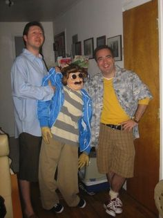 funny photos, halloween costumes, movie costumes, Weekend at Bernies