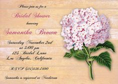 Bridal Shower baby shower invitation vintage by CupidDesigns, $20.00