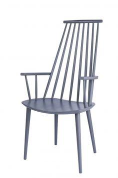 Designet av Poul M. Volther (FDB) for HAY. På lager nå i grå !  W:53 x D:60 x H:44,5/106 cm  Andre farger er bestillingsvare 6-8 ukers leveringstid. Frakt 400 kr etterfaktueres. Kan hentes på showroom etter avtale.
