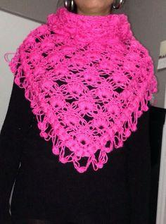 crochet chal rosa youtube 2 parte