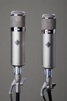 TELEFUNKEN U47 and U48. Made in the USA by TELEFUNKEN Elektroakustik. www.t-funk.com