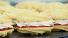 This Viennese whirls recipe by Mary Berry is featured in Season Episode (baking recipes cupcakes mary berry) British Desserts, British Baking Show Recipes, British Bake Off Recipes, Baking Recipes, Dessert Recipes, Scottish Recipes, British Biscuit Recipes, British Sweets, Baking Desserts