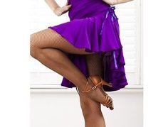 NWT Latin salsa tango rumba Cha cha Ballroom Dance Dress S8101 skirt 2 colors