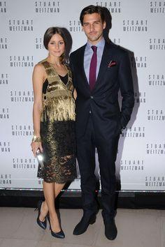 Inauguracion exposicion Mario Testino en Boston: Olivia Palermo y su novio, Johannes Huebl.