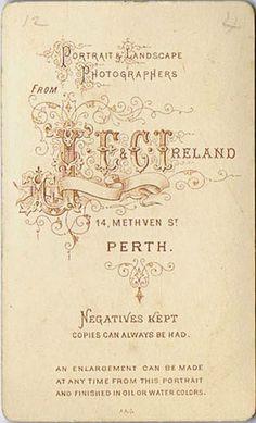 IRELAND J.E. - Perth, UK