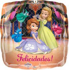 #Globo #Metalizado de la #Princesa #Sofia!!!
