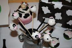 Cake pop mesa dulce vaca.