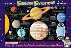 Ata-Boy Magnetic Solar System Play-n-Learn Board ** More info could be found at the image url.