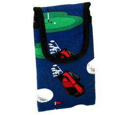 Golf Cell Phone/Glasses Case