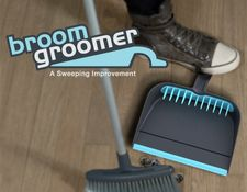 broom, dust pan & broom cleaner