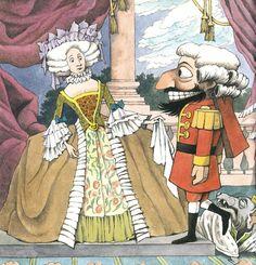 Maurice Sendak illustration for The Nutcracker