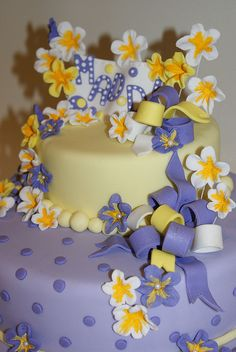 Flowers & Bows by Creations by Calamity Cakes
