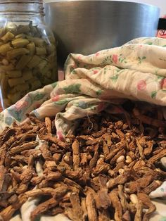 Today's guest post is written by fellow author and friend, Rebecca Waters. Preparing and eating shuck beans is a childhood memory with her grandmother. Our ancestors have found many ways to preserv…