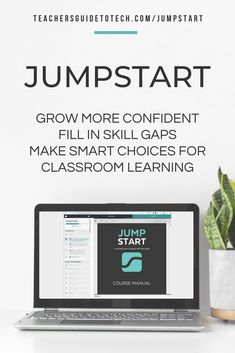 JumpStart is a self-paced online technology course for anyone who wants to make better use of technology in teaching. You learn 10 processes--specific ways of using technology--that can be applied in the classroom for an incredible impact on how your students learn. #CultofPedagogy