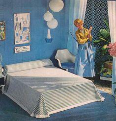 Morgan-Jones, Copenhagen Bedspread