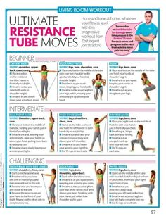 Resistance tube move
