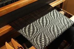 Weaving, and overshot pattern.