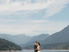fabulous vancouver wedding Continuing on our theme of all things west coast and lovely... From the beautiful day of L and D. xo. #westcoast #portrait #pnw #fuji #contax645 #mountains #postthepeople #richardphotolab #love #wedding #beautifulplace by @guciophotography  #vancouverwedding #vancouverwedding