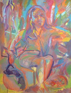 peinture a l'huile sur toile