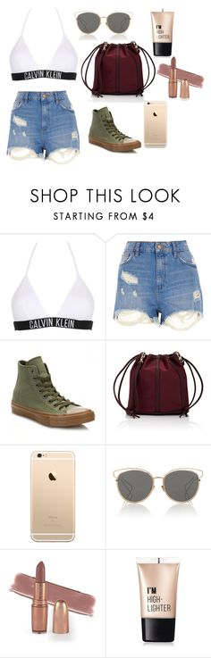 """HOMEWRECKER"" by elizabethpr-227 on Polyvore featuring moda, Calvin Klein, River Island, Converse, Deux Lux, Christian Dior y Charlotte Russe"