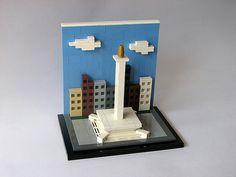LEGO Monumen Nasional - Jakarta Indonesia