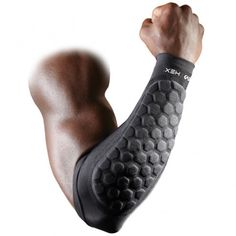 McDavid Neoprene Sleeve Rubber Outer Surface Padded Elbow, Large: Football forearm sleeve with patented HexPad and Ultra hDc Moisture Management Technology, sold in pairs Tactical Wear, Tactical Clothing, Football Pads, Football Field, Contact Sport, Compression Sleeves, Armor Concept, Cool Gear, Body Armor