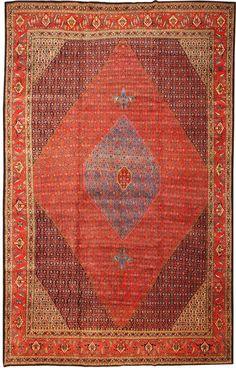 Antique Bidjar Persian Rug 43678 Main Image - By Nazmiyal