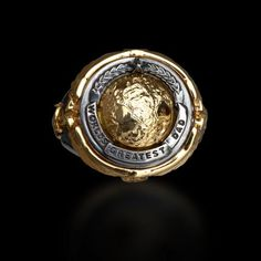 World's Greatest Dad Men's Ring #mensfashion #dadgift