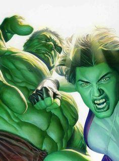 Hulk and She-Hulk