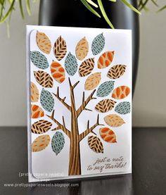 pretty paperie sweets: Halloween & Fall Creations - Seasonal Blog Hop