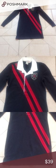 RUGBY Ralph Lauren Dress   Sz XS GREAT BUY! Describes this Black/Red RUGBY RALPH LAUREN Dress that measures 17 inches from armpit to armpit; is 16 inches across the waist; is 17 inches across the hips; and is 33 inches in overall length. rugby ralph lauren Dresses Midi