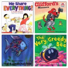 Books that teach sharing  Mommy.Nanny.Guru.: Little Angels