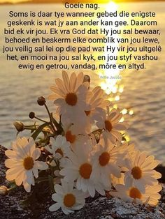 Good Night Wishes, Good Night Sweet Dreams, Good Night Quotes, Sympathy Card Messages, Evening Greetings, Mom Prayers, Goeie Nag, Goeie More, Afrikaans Quotes