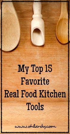 My 15 Favorite Kitchen Tools - www.ohlardy.com