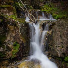 So many waterfalls in explore in Kananaskis. Found this one near Troll Falls :) #waterfall #kananaskis #alberta