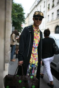 They Are Wearing- Paris Mens Fashion Week Spring 2014 - Slideshow
