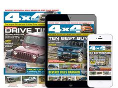 magazine is the market leader in automotive off-roading. Jeep Brand, New Model, 4x4, Cool Things To Buy, Magazine, Club, Models, Marketing, News