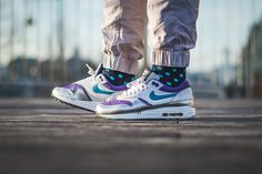 "Nike Air Max 1 ""Purple Snakeskin"""