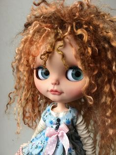 Pretty Dolls, Beautiful Dolls, Plush Dolls, Blythe Dolls, Doll Carrier, Fantasy Drawings, Bear Doll, Little Doll, Doll Repaint