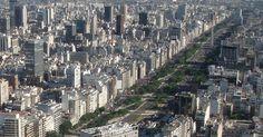 Obelisco e Avenida 9 de Julho em Buenos Aires #argentina #viagem