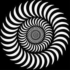 op art. #blackandwhite #opart #artwork http://www.pinterest.com/TheHitman14/black-and-white/